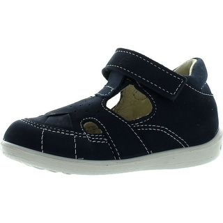 Ricosta Boys European Casual Sandal Shoes - blue nubuck