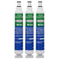 Replacement Water Filter for Whirlpool 4396701 Refrigerator Water Filter by Aqua Fresh (3 Pack)