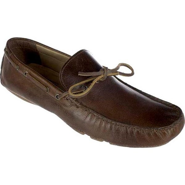 ee918b47836042 Shop Crevo Men's Kroozer Driving Moc Chestnut Brown Leather - On ...