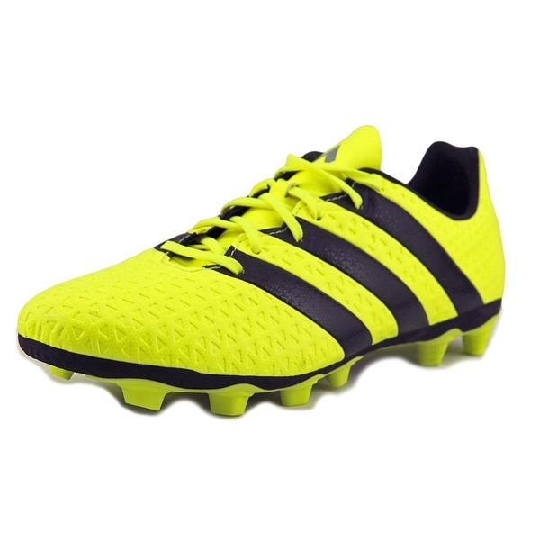 Adidas ACE 16.4 FXG Men Round Toe Leather Cleats