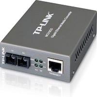 Tp-Link Mc210cs Gigabit Ethernet Media Converter Single Mode Sc Fiber