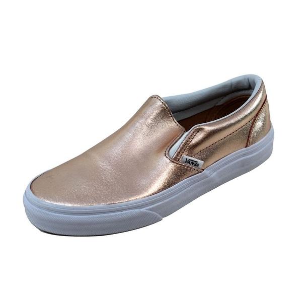 Vans Men's Classic Slip-On Black/White VN0003Z4IGA Size 4.5