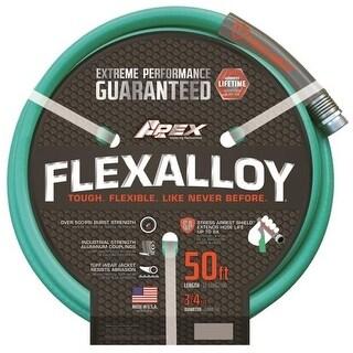 """Apex 9550-50 Flexalloy Garden Hose, 3/4"""" x 50'"""