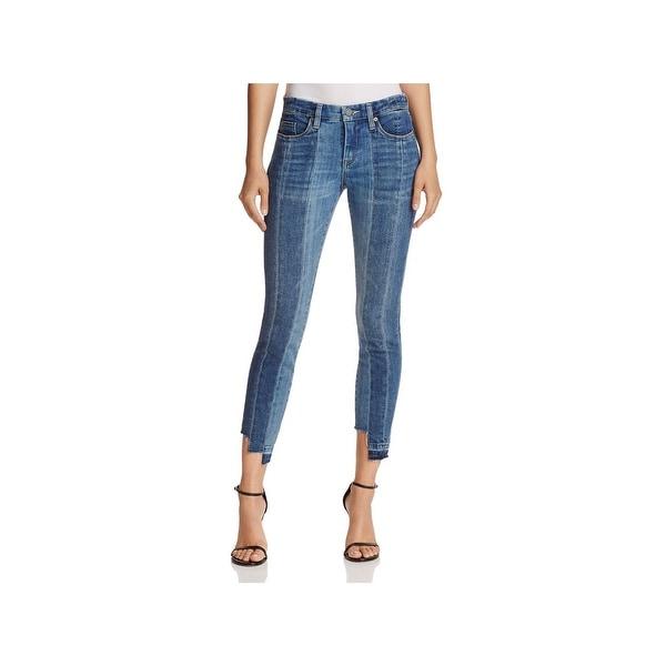 d8af1f5360b Shop Blank NYC Womens Skinny Jeans Contrast Denim Cropped - Free ...