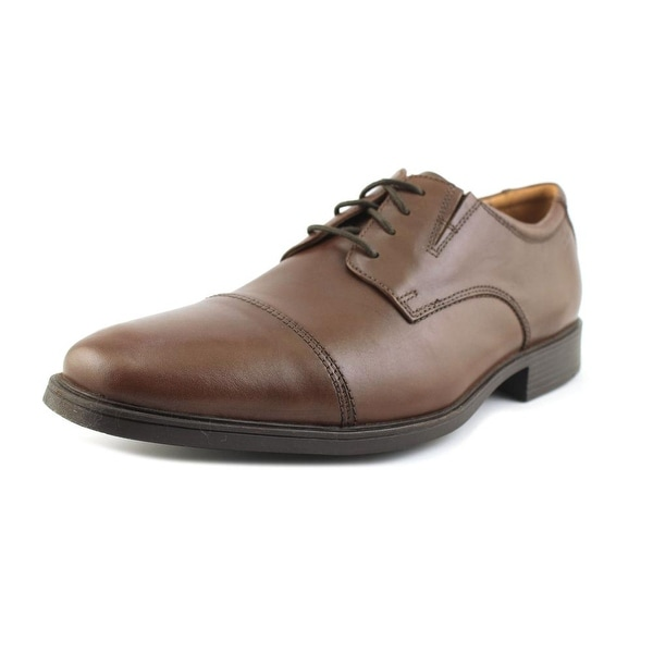 Clarks Tilden Cap Men Cap Toe Leather Oxford