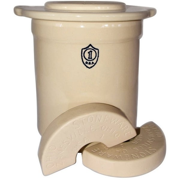 Ohio Stoneware 12171 Crock Set, 1 Gallon