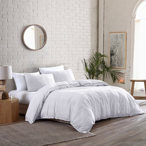 Brielle Home Billie Garment Washed Cotton Comforter Set