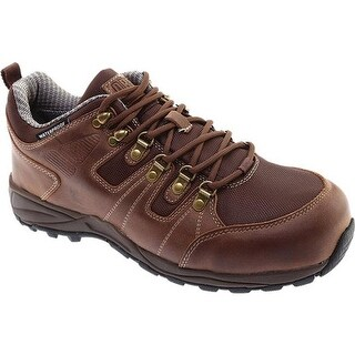 Drew Men's Canyon Waterproof Hiker Dark Brown Leather
