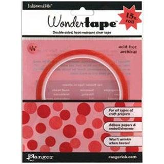 """.25""""X15' - Inkssentials Wonder Tape Redline"""