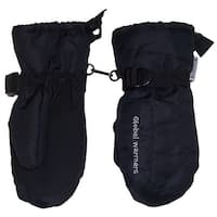 NICE CAPS Unisex Adults Solid And Colorblocked Puffy Waterproof Ski Mittens