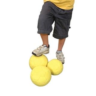 Sportime No 4 DeadZone Indoor Soccer Ball, Yellow
