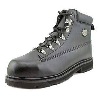 Harley Davidson Drive Men Steel Toe Leather Motorcycle Boot