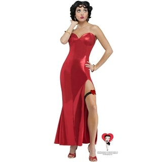 Fun World Betty Boop Gown Adult Costume - Red