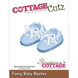"CottageCutz Die-Fancy Baby Booties 2.3""X1.6"""