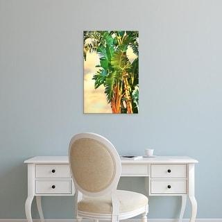 Easy Art Prints Melinda Bradshaw's 'Bird of Paradise Palm II' Premium Canvas Art