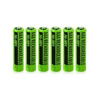 Replacement Battery For Panasonic KX-TG1031S / KX-TG6432T / KX-TG9 Phone Models (6 Pack)