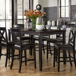Link to Thornton II Black and Brown 7-Piece Gathering Set Similar Items in Dining Room & Bar Furniture