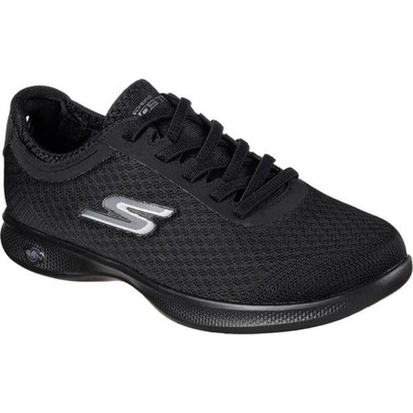 f2418cfb9f4b Shop Skechers Women s GO STEP Lite Dashing Sneaker Black Black - On ...