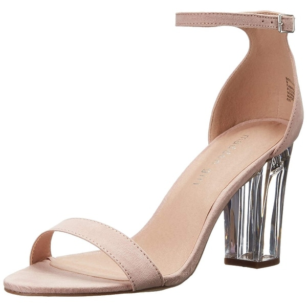 9c60d241bba Madden Girl Womens Beella-L Fabric Open Toe Special Occasion Ankle Strap  Sand.
