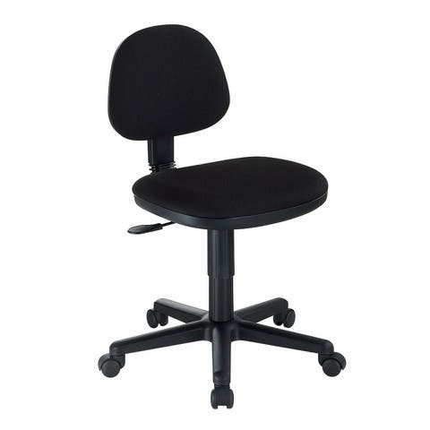 Alvin ch277-40 black comfort economy office height task chair