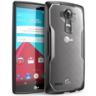 LG G4 Case, SUPCASE Unicorn Beetle Series,Protective Clear Case for LG G4 2015 Release-Frost/Black