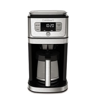 Cuisinart DGB-800 Next Generation 12-Cup Burr Grind & Brew Coffee Maker, Stainless Steel