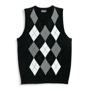 Boys Argyle Sweater Vest