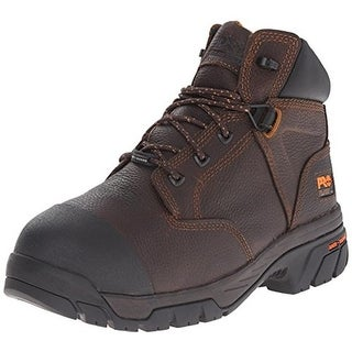 """Timberland Mens Helix 6"""" Leather Composite Toe Work Boots - 7.5 wide (e)"""