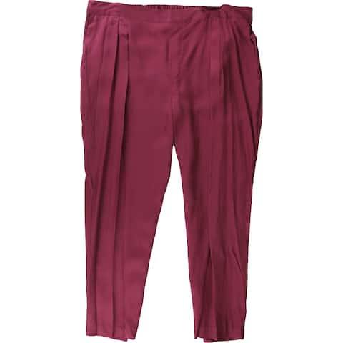 Ralph Lauren Womens Cropped Twill Dress Pants
