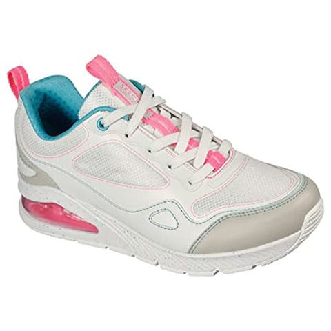 Skechers Women's Uno 2 - Spectacle Hi Sneaker, White/Multi