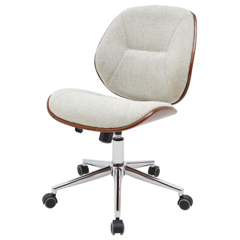 Shaun Fabric Bamboo Office Chair