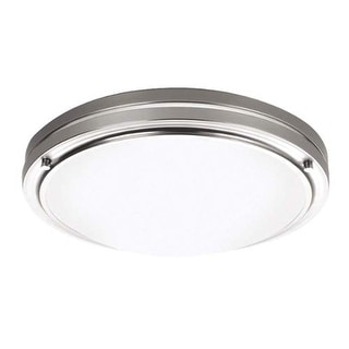 "Forecast Lighting F245136U 2 Light 13.5"" Wide Flush Mount Ceiling Fixture from the West End Collection"