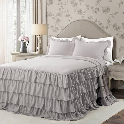 The Gray Barn Molly Mae Ruffle Skirt Bedspread Set