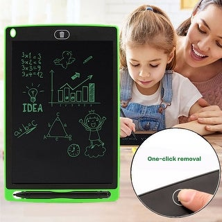 "Great Gift For Kids - 8.5"" LCD e-Writer Paperless Tablet Boogie Board - Green"