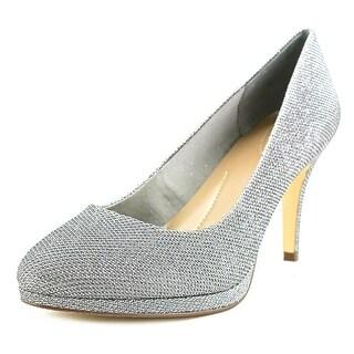 Style & Co Nikolete Women Round Toe Suede Heels