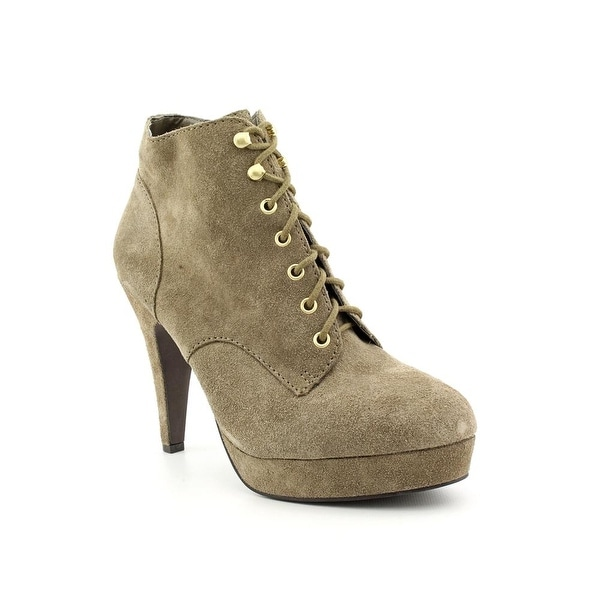 INC International Concepts Perry Women Pointed Toe Suede Ankle Boot