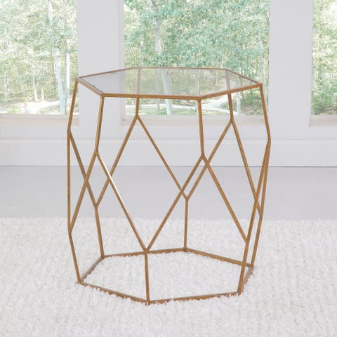 The Curated Nomad Roxbury Mixed Media End Table