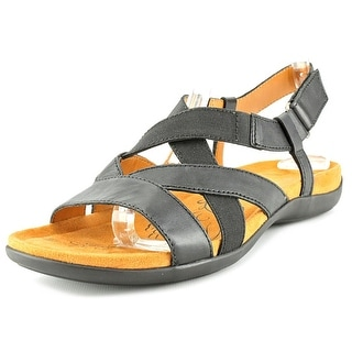 Naturalizer Edith N/S Open-Toe Leather Slingback Sandal