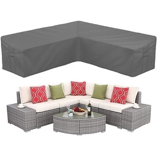 Link to Patio Sectional Sofa Cover Heavy Duty Waterproof Similar Items in Patio Furniture