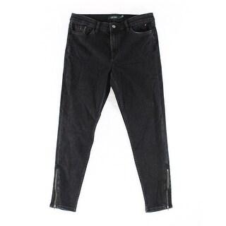 Lauren Ralph Lauren NEW Black Women's Size 10 Slim Skinny Jeans