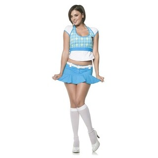 Seven til Midnight School Me Adult Costume - Solid