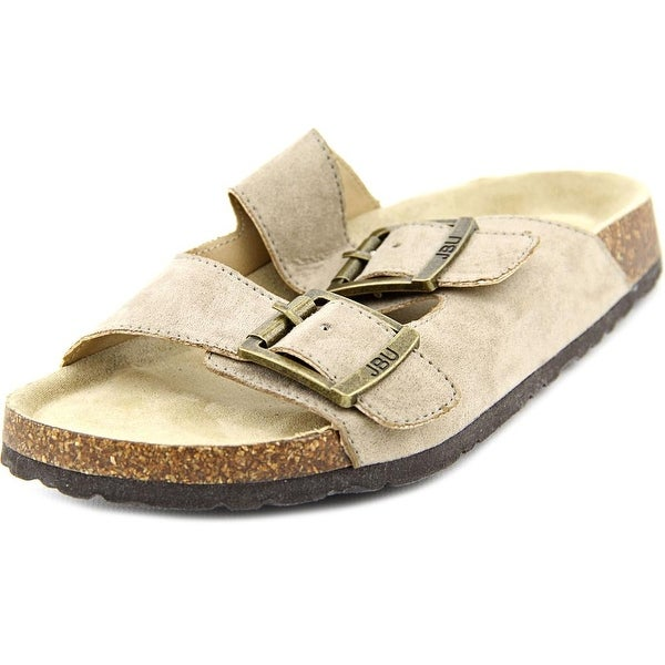 JBU by Jambu Ellen Too Open Toe Canvas Slides Sandal