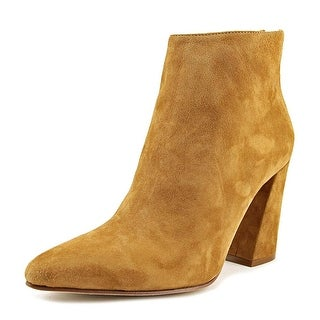 VC John Camuto Trinity Pointed Toe Suede Bootie