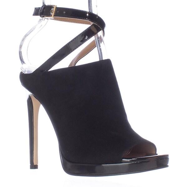 f9adb80f131e Shop Calvin Klein Samanta Ankle Strap Mule Heels