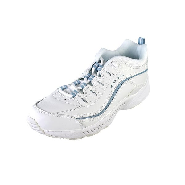 Easy Spirit Regine Women W Round Toe Leather White Walking Shoe