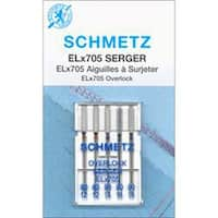 Sizes 12/80 (2); 14/90 (3)  - Elx705 Serger Needles