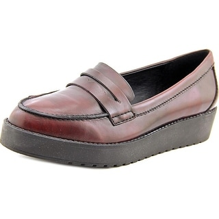 Madden Girl Empirree Women Round Toe Leather Loafer