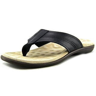 GH Bass & Co Salinas Men Open Toe Leather Flip Flop Sandal