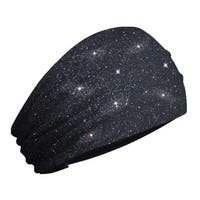 That's A Wrap Women's Twilight Sparkle Knotty Band Headwrap, Black KB2930 - One Size Fits Most