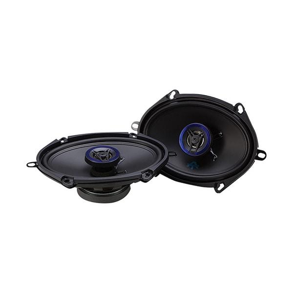Autotek ATS5768CX ATS Coaxial Full Range Speaker, 5 x 7/6 x 8-Inch, Set of 2